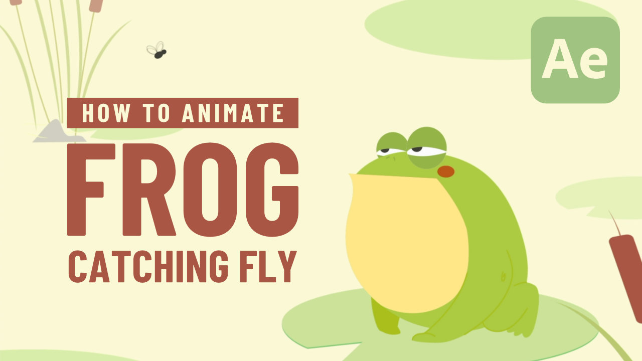 Frog Catching Fly